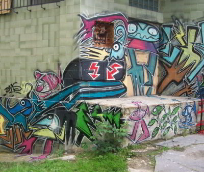 KUM-BÁL, GRAFFITI JAM