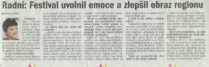 Deník Chomutovska 2.9.04, str. 13 (Vlastní)