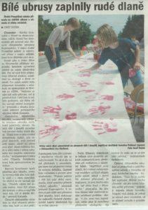 Deník Chomutovska, 26.7.04, str. 15 (Vlastní)