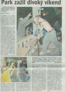 Deník Chomutovska 30.8.04, str. 17 (Vlastní)
