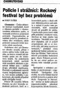 Deník Chomutovska CB (Vlastní)