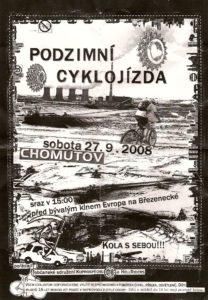 podzimní cyklo poster