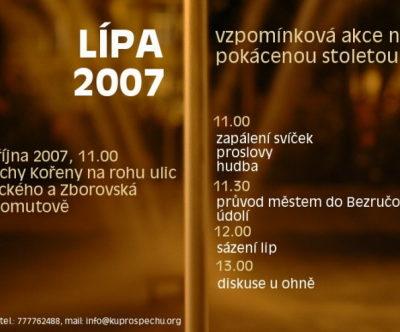 LÍPA 2007